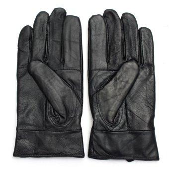 Women Sports Leather Gloves New - intl