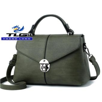 Túi nữ thời trang phong cách Thành Long TL8161 3(xanh)