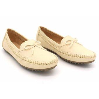 Giày búp bê nữ cao cấp Pierre Cardin SB070-Cream