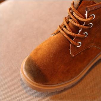 Giày bốt siêu nhẹ bé trai - GTE 10 (Da bò)
