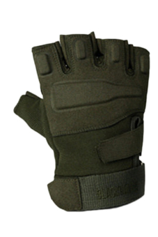 Fancyqube Army Full Finger Airsoft Combat Tactical Gloves (Green) - Intl