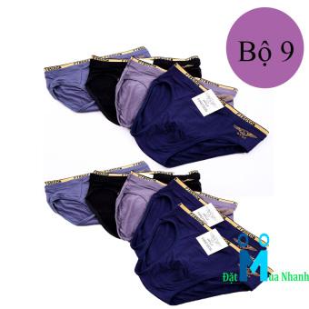Bộ 9 quần lót nam FIRST SON siêu mịn - F06