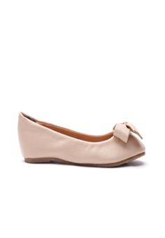 Giày búp bê be mịn nơ xinh DL999