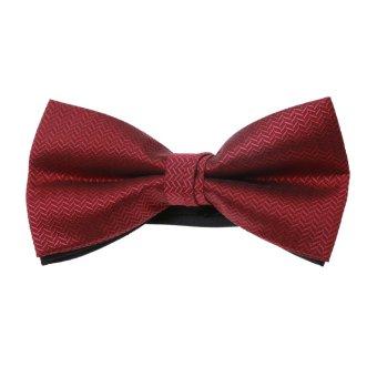 BolehDeals Mens Adjustable Wedding Prom Formal Party Dickie Tuxedo Bow Tie #2 - intl