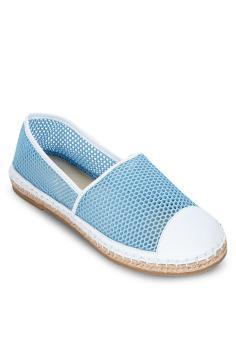 Giày Slip On Lưới xanh da trời SCALA