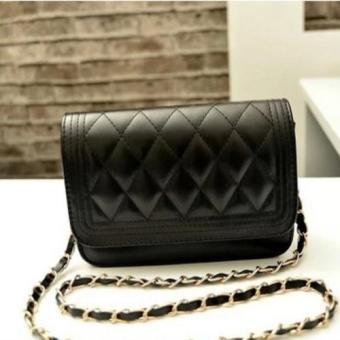 Túi đeo vai nữ phong cách Hàn Quốc mẫu T28 đen