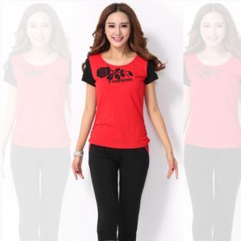 Bộ đồ Rose Fashion LADOS-157 (Đỏ).