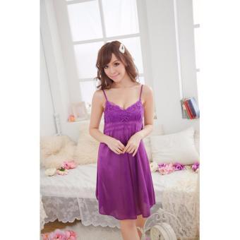 Đầm Ngủ Đẹp Giá Rẽ Hoa Nắng MS486 - Tím