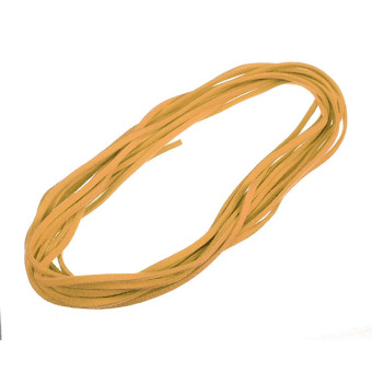 Multi Colors 5 Meters Korea Suede Flat Leather Cord Wire Lace String 3mm?1.5mm - Intl