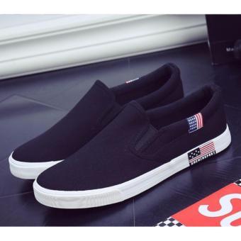 Giày lười chất đẹp ( đen )