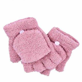 Hot Fashion Babies Hand Wrist Warmer Winter Fingerless Gloves Best GIft - intl