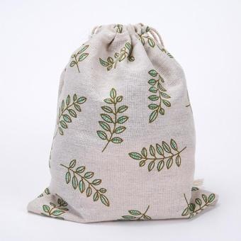 Fashion Unisex Backpacks Printing Bags Drawstring Backpack 3 Sizes - intl