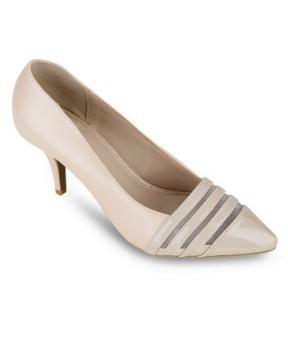 Giày cao gót UP&GO - P07-372 (Kem)