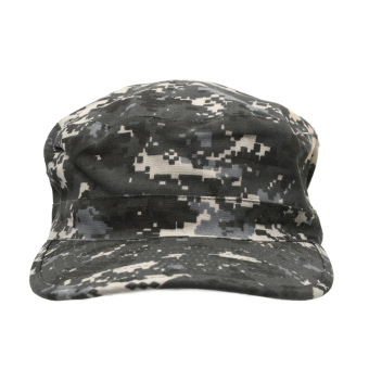 Men Women Baseball Caps Sun Visor Army Tactical Outdoor Camouflage Military Soldier Combat Hat Grey Camouflage (Intl)