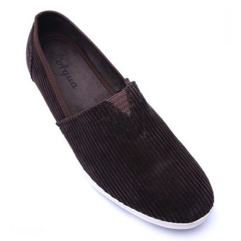 Giày lười nam hiệu Aqua Sportswear L002K (Nâu)