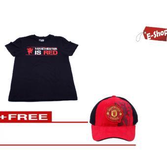 Áo Thun Manchester United E - Shop Design + Tặng 1 nón Mu