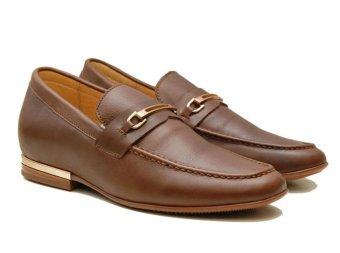 Giày tăng chiều cao nam TT928 cao 5.5cm (Nâu)