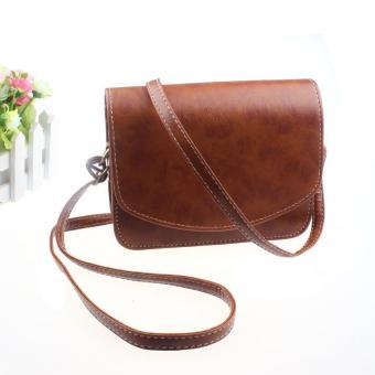 Women Imitation leather Shoulder Bag Satchel Handbag Retro Messenger Free Shipping - intl