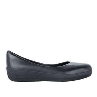 Giày Búp Bê Fitflop FFW Leather Superballerina (Đen)