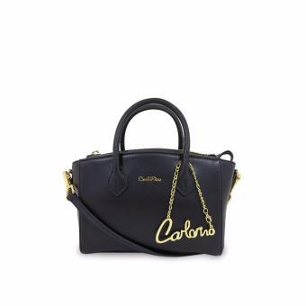 Túi xách tay Carlo Rino 0303407-001-08 (đen)