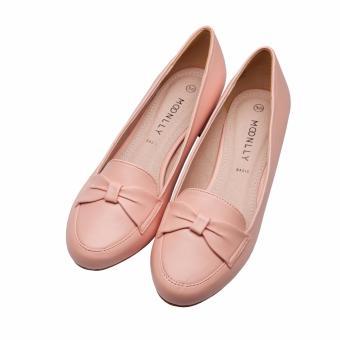 Giày mọi nữ 3p nơ