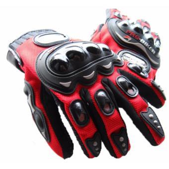 Găng tay dài ngón Probiker chuyên phượt (Đỏ)