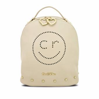 Balo mặt cười Carlo Rino 0303313-001-21 (màu beige)