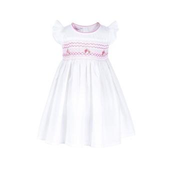 Hailey - Đầm Bé Gái Thêu Xích Móc