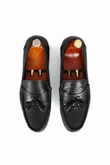 Giày mọi Alessandro Luigi LG92-79 (Đen)