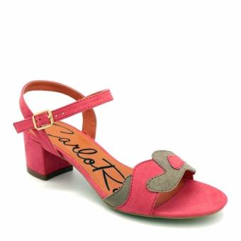 Giày Sandal cao gót Carlo Rino 333040-120-04 (màu đỏ)