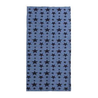 Star Print Scarf Child Cotton Scarves - Intl