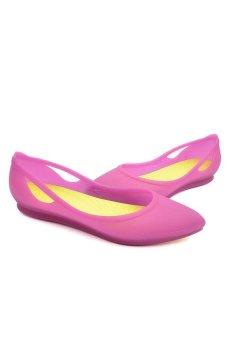 Giày búp bê Crocs Crocs Rio Flat W Vibrant Violet/Chartreuse 16265-5J6 (Violet)