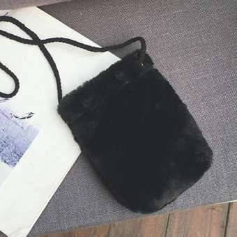 Women Fashion Handbag Shoulder Bag Tote Ladies Purse Black - intl