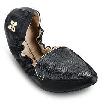 Giày búp bê nữ AMBER BT1062-003 (Đen)