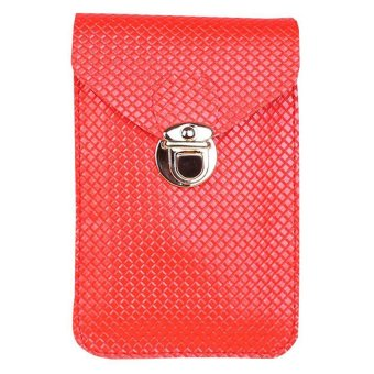 Moonar Women's Crossbody Shoulder Bags Mini Phone Bag Purse (Red) - Intl