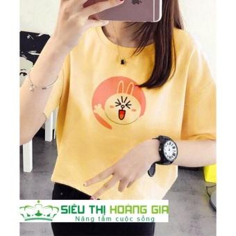 Áo thun nữ Free Size HG93 - Vàng