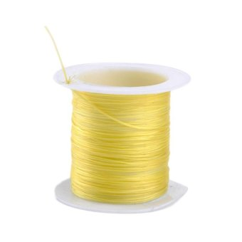 Moonar 3 Rolls 10M Strong Stretchy Elastic Cord String Strand DIY Craft 0.6mm (yellow) - intl