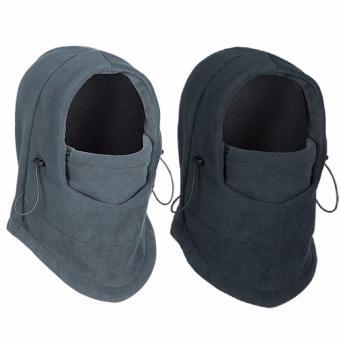 Mũ Đội Đầu Đa Chức Năng Cho Nam (Màu Xám)