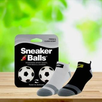Combo 2 đôi vớ nam Running Select Sofsole và bóng thơm khử mùi Sneaker balls Football-Int: One size