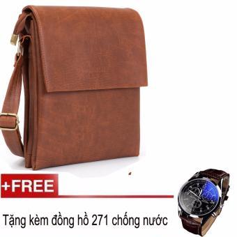 Túi đeo chéo Hanama S1 + Tặng kèm đồng hồ dây da SK271