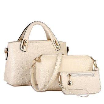 Women Handbag Shoulder Bags Tote Purse Leather Ladies Messenger Hobo Bag - intl