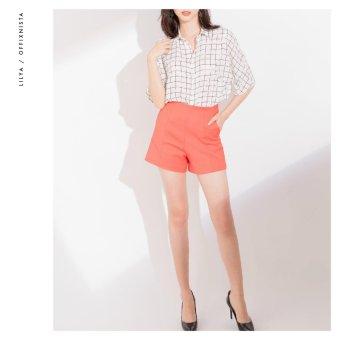 Quần Short 2 túi hông Lilya SS2017 (Cam)