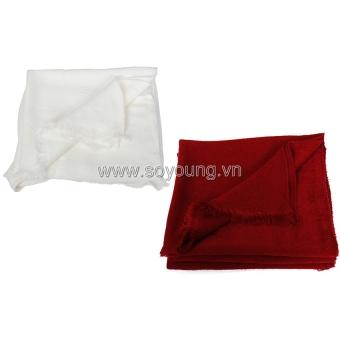 Bộ 2 Khăn Len Choàng Cổ Nữ Soyoung 2SCARF 001 W DR