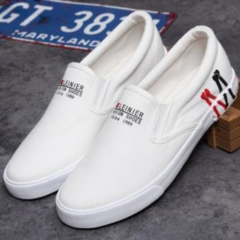 Giày lười nam thời trang - CV03 ( Trắng )