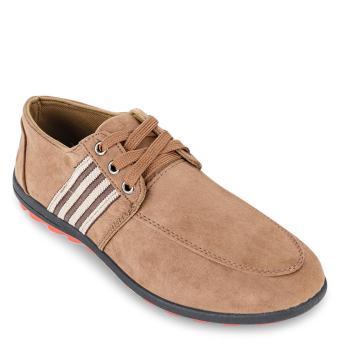 Giày sneaker nam A12 (Nâu)