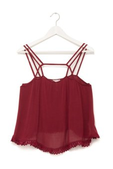 Áo hai dây Free People Summer Straps Cami (Đỏ)