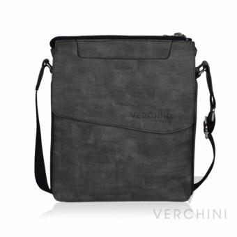 Túi xách nam Verchini màu rêu vân nhạt 004365