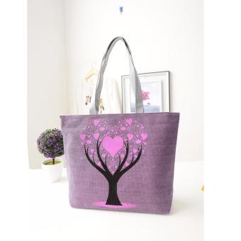 Túi xách tone vải đeo vai SPH-TREE02(VIOLET)