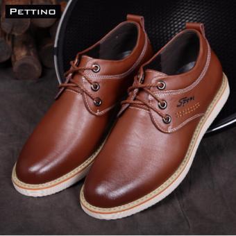 giày tây nam - Pettino GD-02 (nâu)