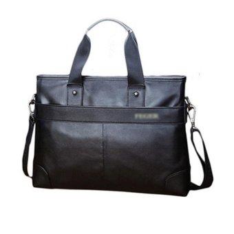 Túi xách da bò thật đựng laptop FG 986-3 đen